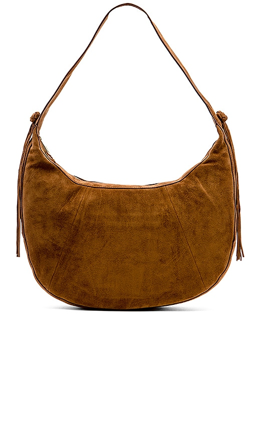 Elizabeth and James Zoe Large Hobo Bag in Cognac