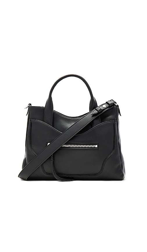 Elizabeth and James Andie Satchel Bag in Black