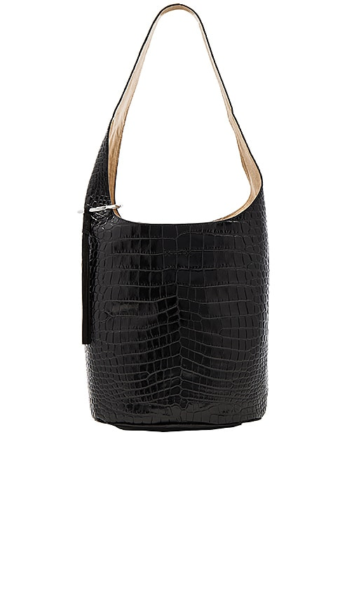 Elizabeth and James Finley Courier Bag in Black