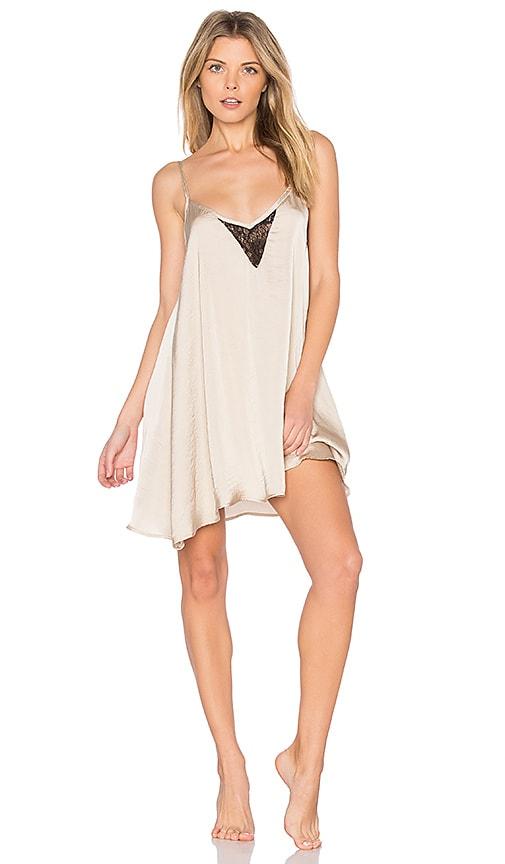 EASTNWEST Slip Dress in Beige