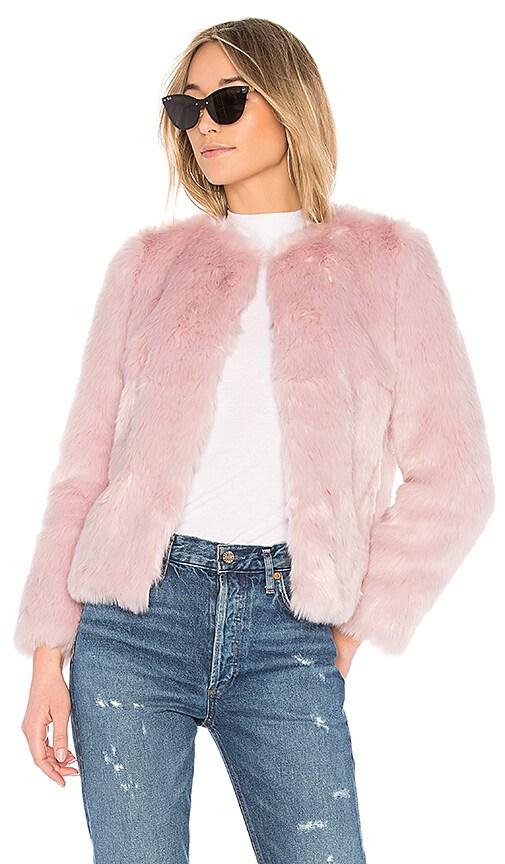 EAVES Jayce Coat in Pink