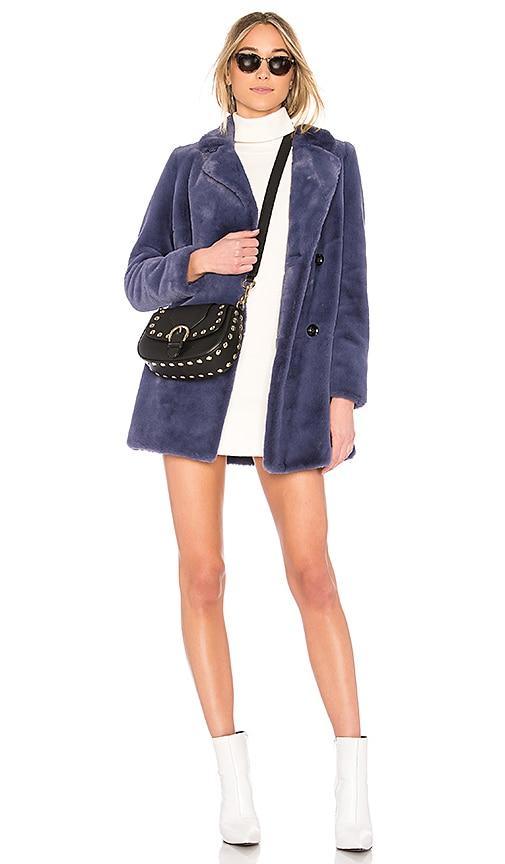 EAVES Mia Coat in Blue