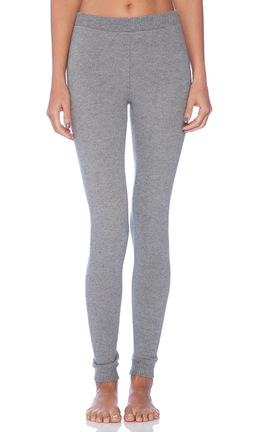 d43a3cdd39c4a eberjey Cozy Time Legging in Heather Grey | REVOLVE