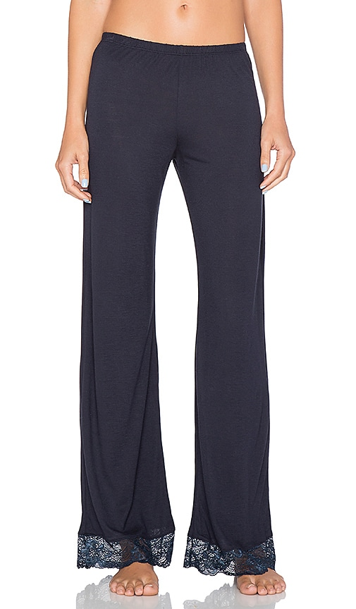 eberjey Everly Classic Pant in Infinity Blue