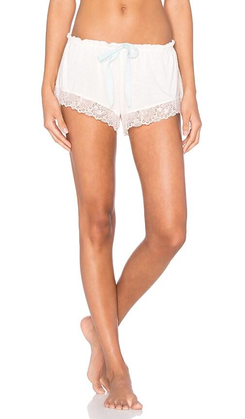 eberjey Piper Shorts in Pearl Pink & Mint Powder