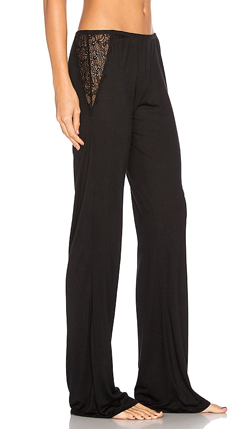 eberjey Adeline Pant in Black