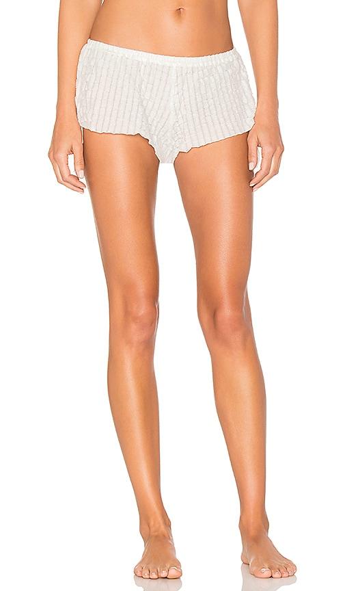 eberjey Paz Side Tie Shorts in White