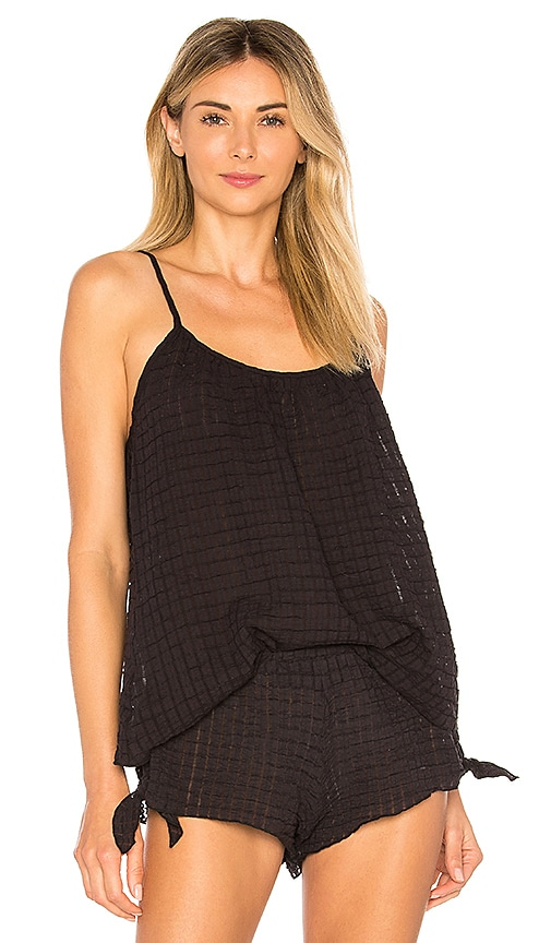 eberjey Paz the Breezy Cami in Black