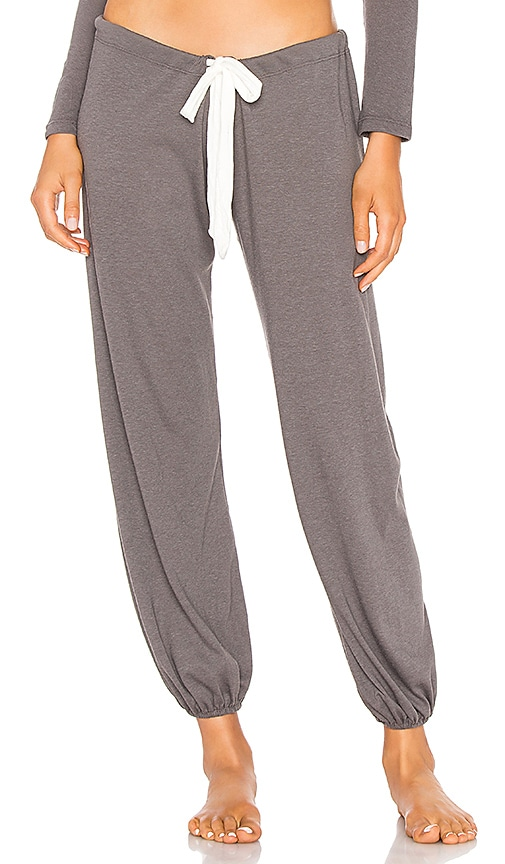 Cropped Heather Pant