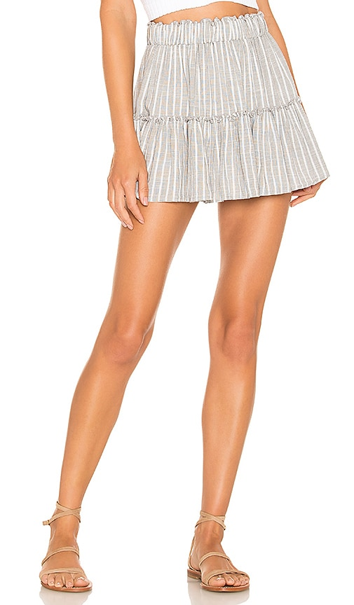 Amalfi Stripe Ellie Skirt