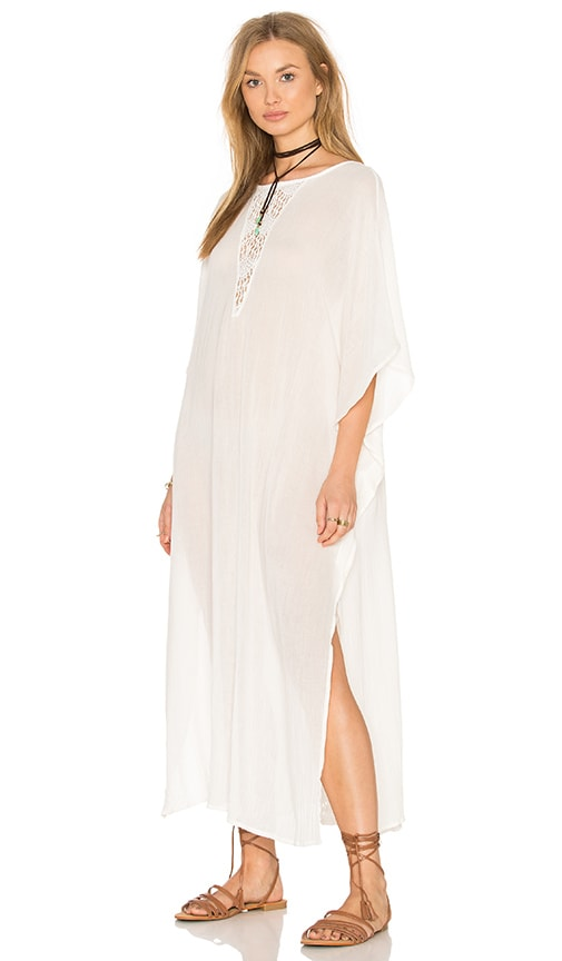 eberjey End Of Summer Marlowe Cover Up in White