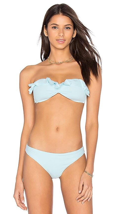 eberjey So Solid Rafaella Bikini Top in Blue