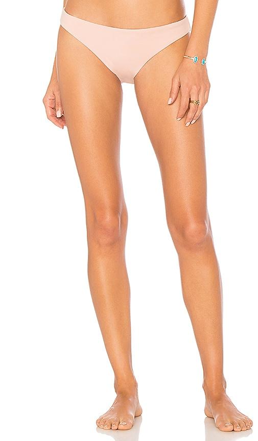 eberjey So Solid Annia Bikini Bottom in Pink