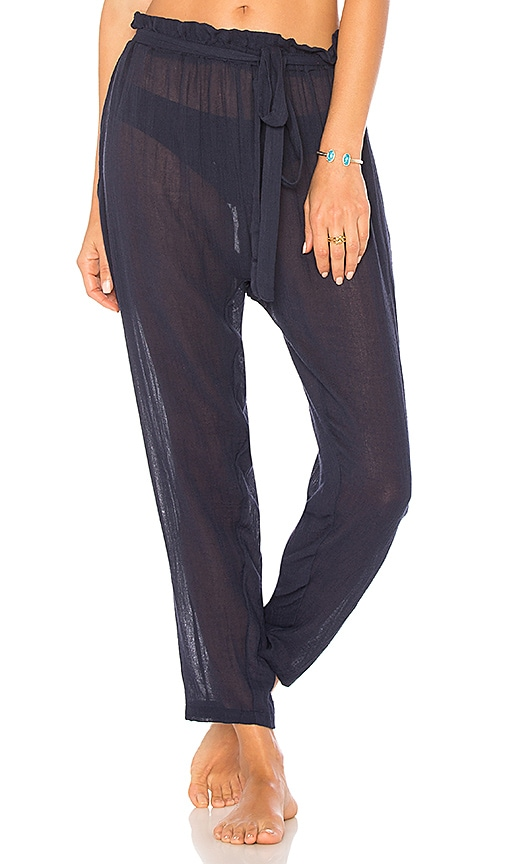 eberjey Summer of Love Hudson Pant in Navy
