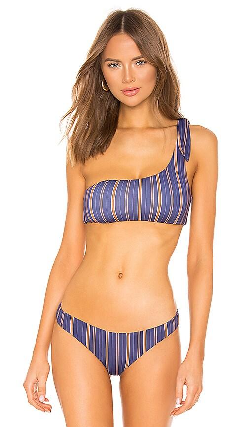 Riviera Stripes Marion Bikini Top