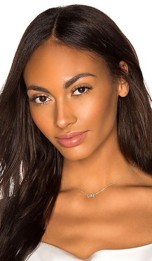 Mini Diamond Love Necklace