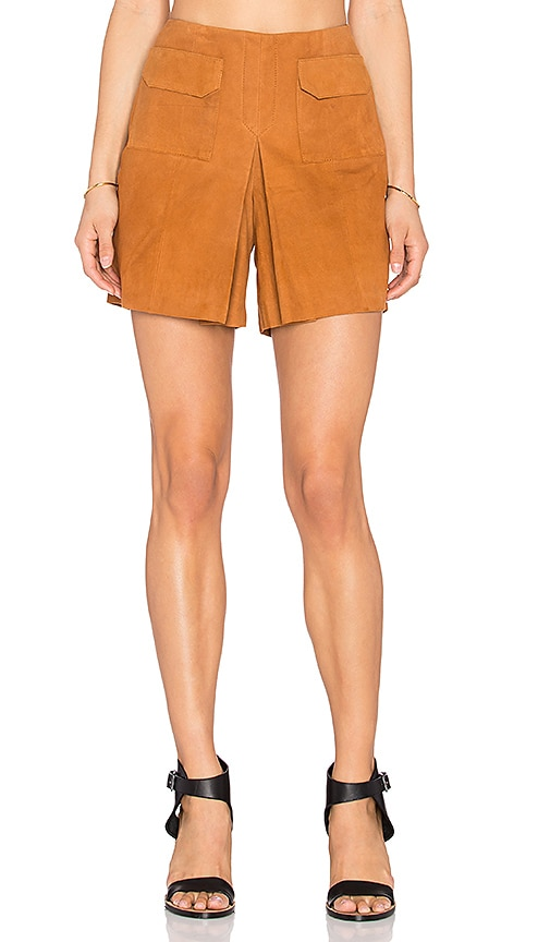 EGREY Chamois Skort in Tan