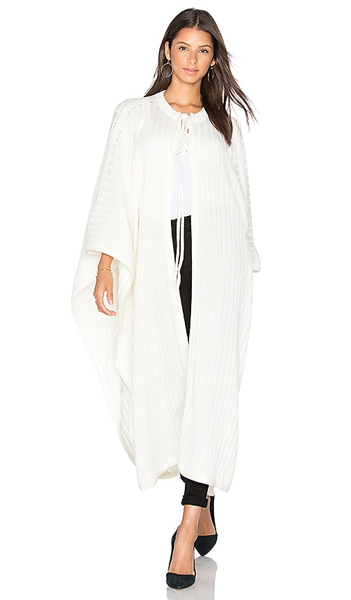EGREY Helo Poncho in White