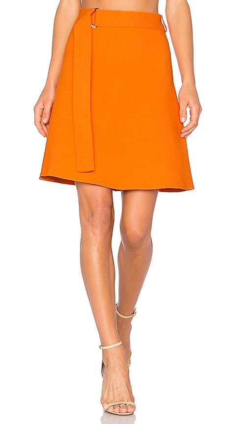 EGREY Mini Skirt in Orange