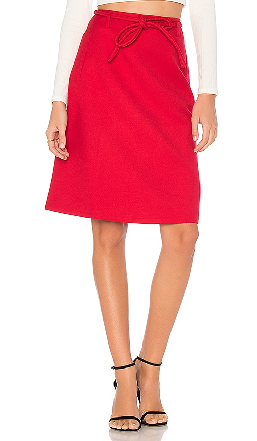 EGREY Helena Skirt in Red