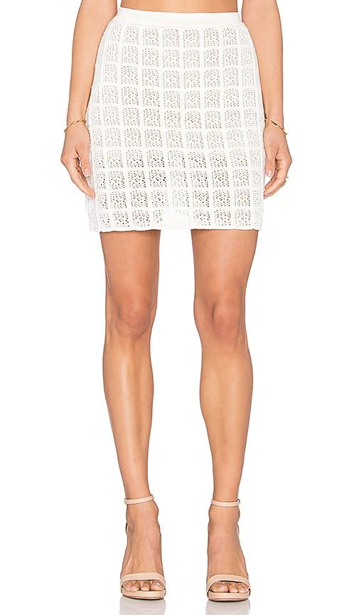 EGREY Square Skirt in Ivory