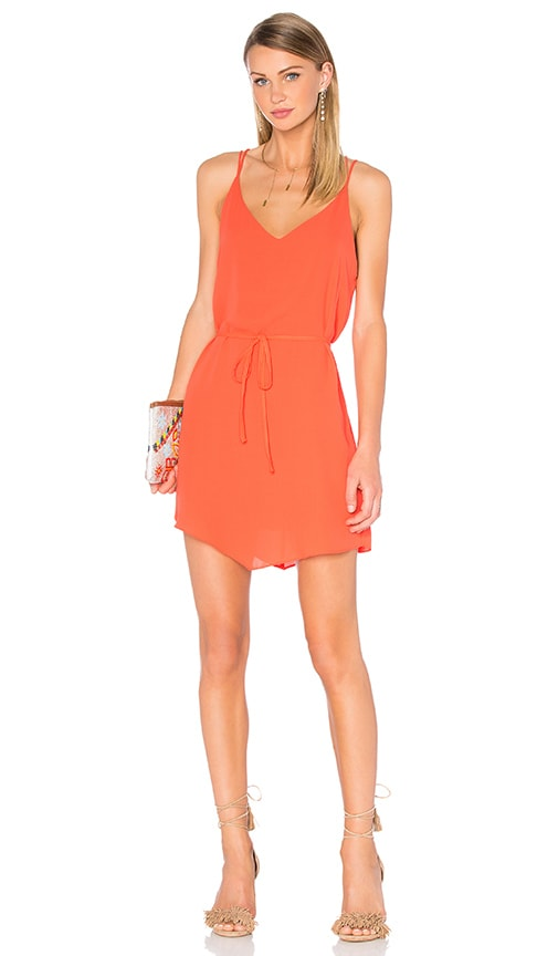 Eight Sixty Tequila Sunrise Dress in Red