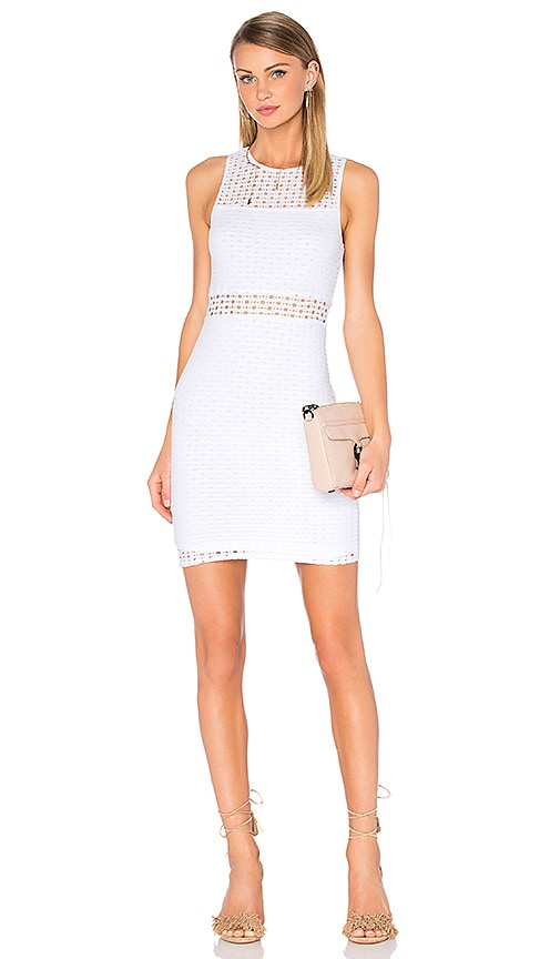 Sleeveless Eyelet Mini Dress