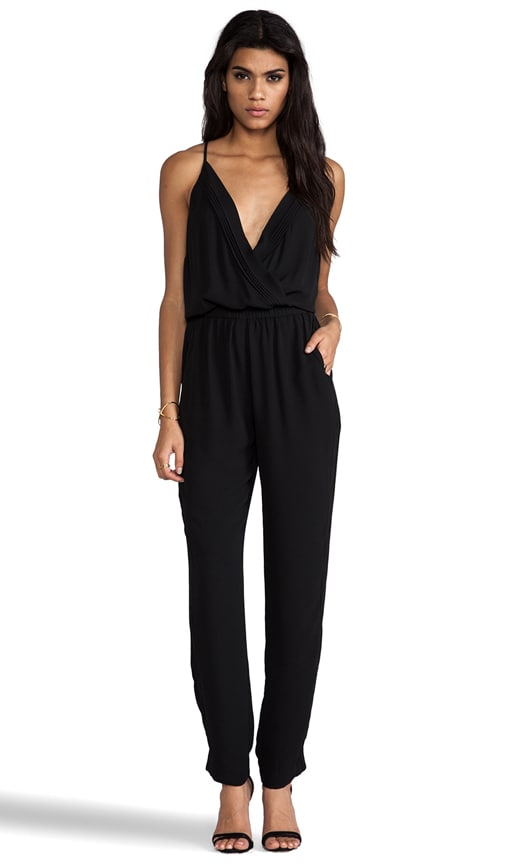 Jumpsuit with Pleating