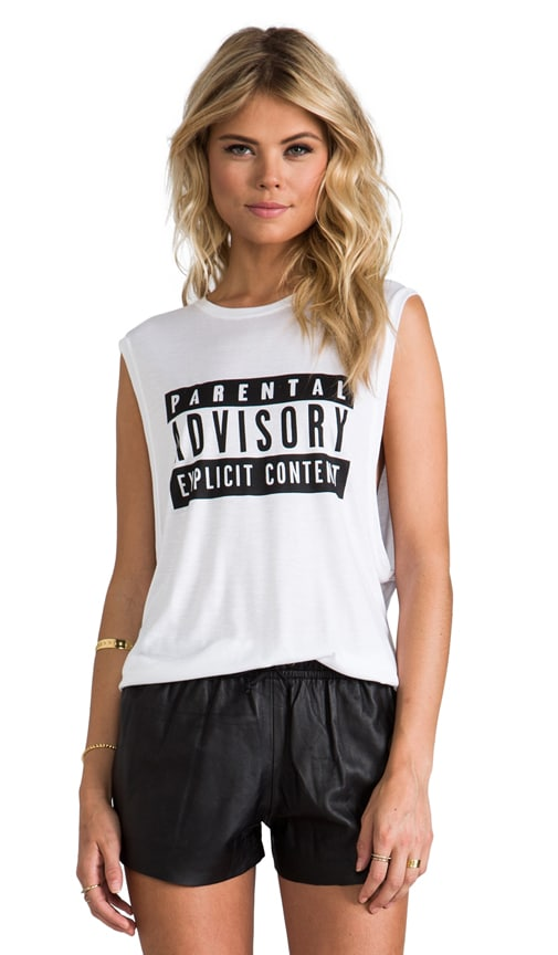 Location and Memos Parental Advisory Tank