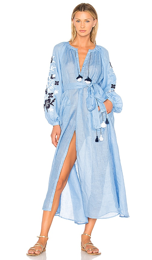 Eleven by March 11 Adele Maxi Dress in Blue