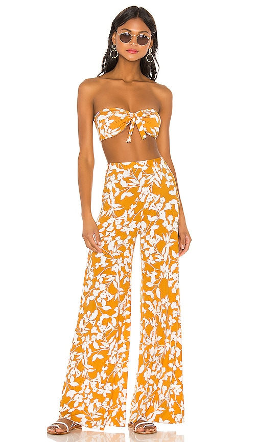 Santorini Set Yellow & White Floral