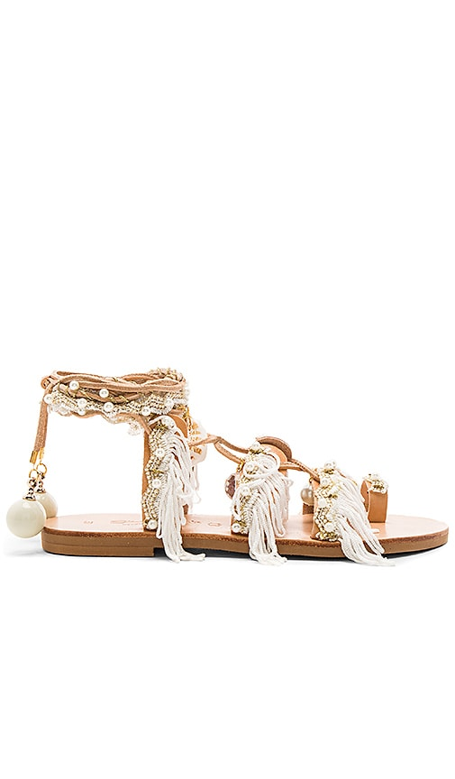 Elina Linardaki Ever After Sandal in White