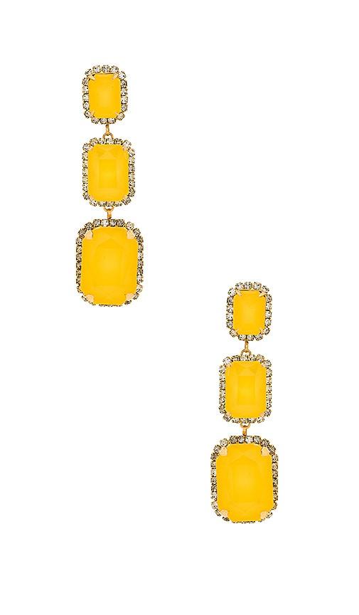 Elizabeth Cole Powell Earrings in Metallic Gold