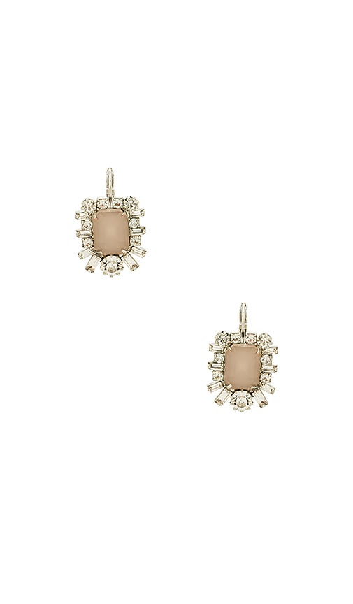 Elizabeth Cole Petrina Earrings Earring in Metallic Silver