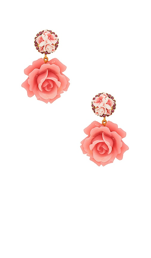 Elizabeth Cole Adelade Earrings Earrings in Pink