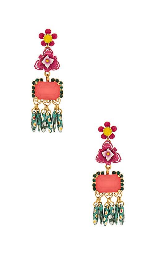 Elizabeth Cole Morton Earrings in Pink
