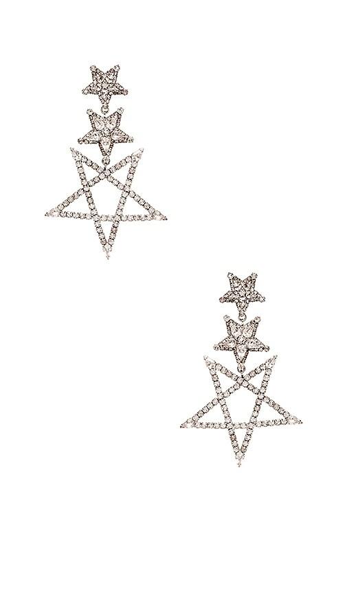 Star Drop Earring