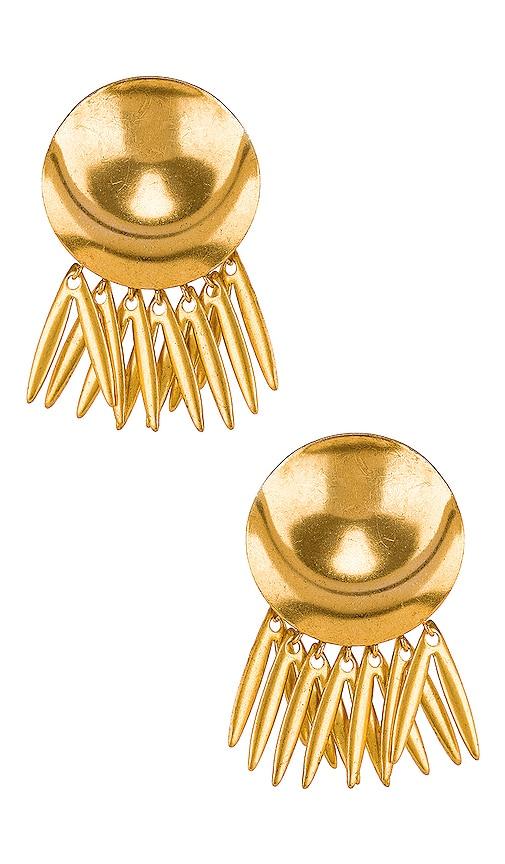 Armor Fringe Earrings