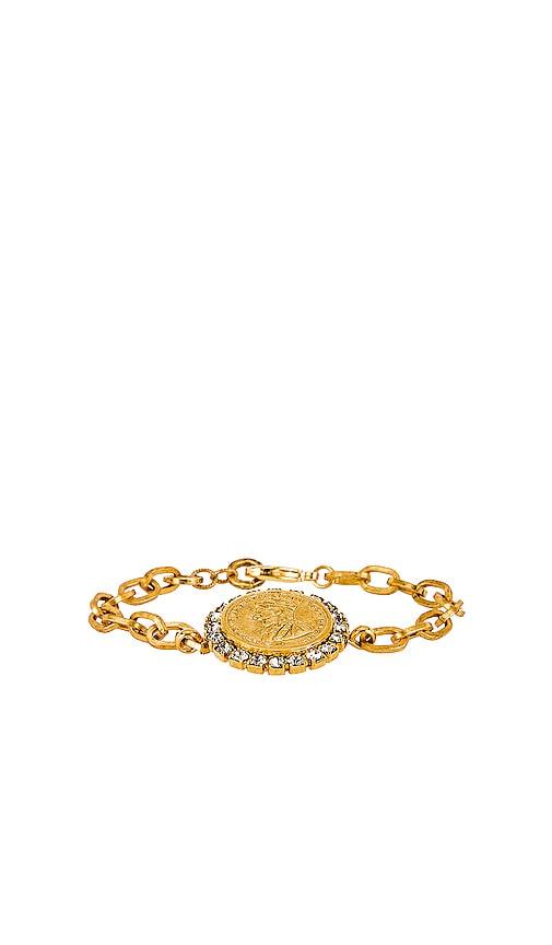 Crystal Coin Bracelet