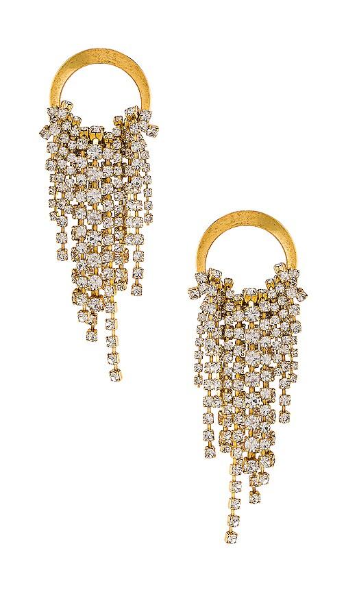 Cascading Crystal Earrings