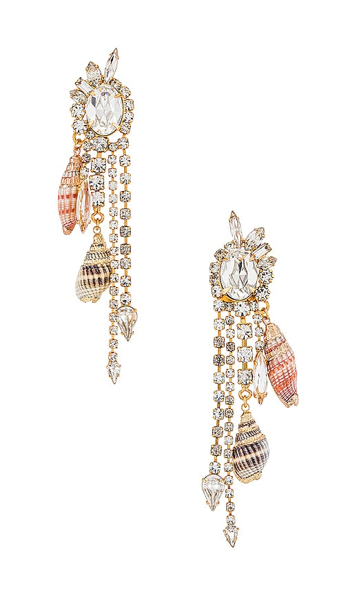 Elizabeth Cole Maude Earrings In Natural