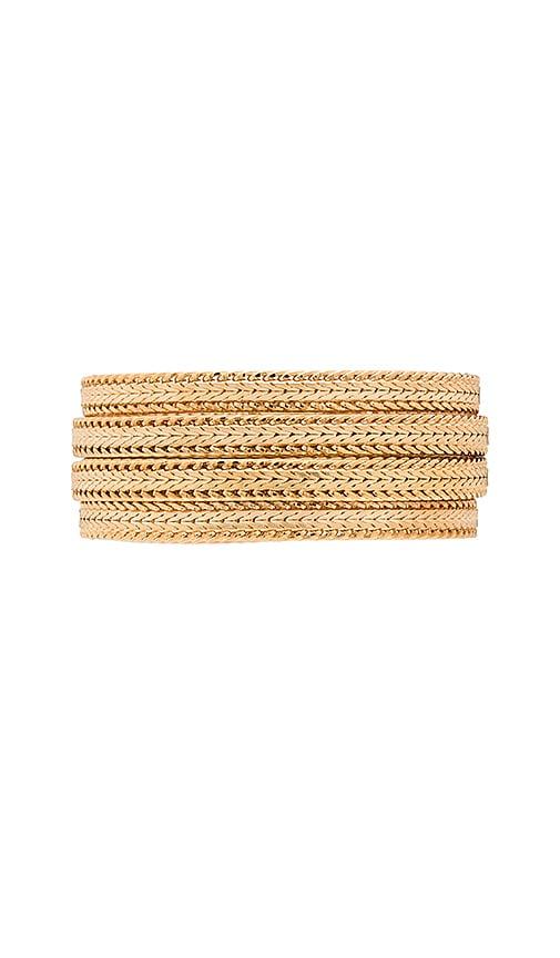 Elizabeth Cole Bracelet in Gold