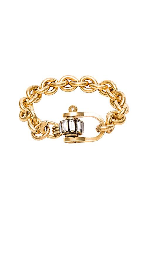 Elizabeth Cole Chunky Chain Bracelet in Golden Neutral