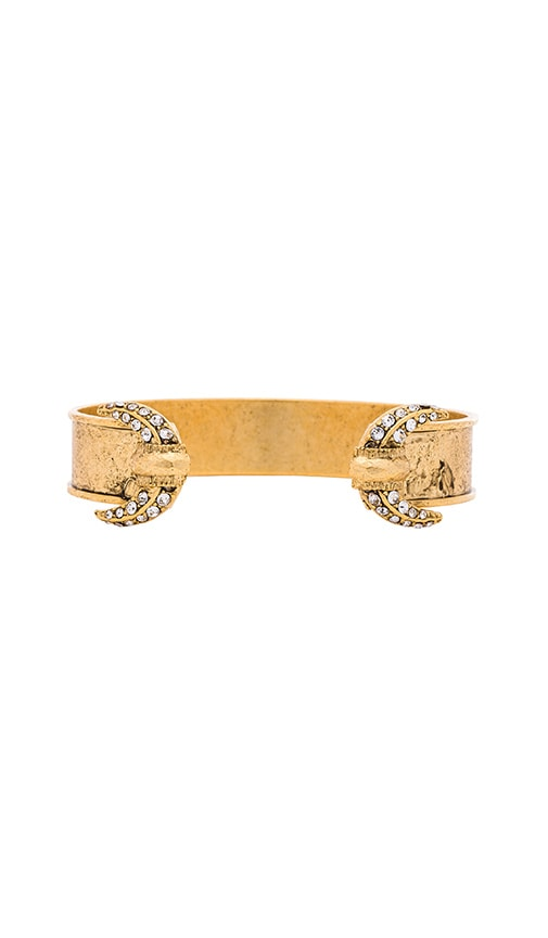 Elizabeth Cole Bracelet in Metallic Gold