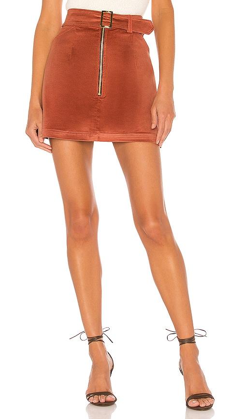 Maddie Velvet Skirt