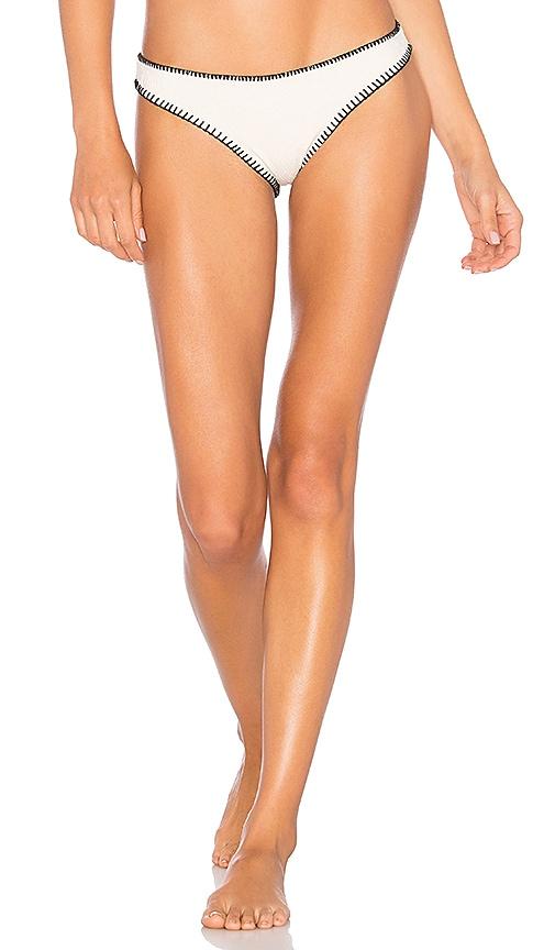 ELLEJAY Diane Bikini Bottom in Ivory