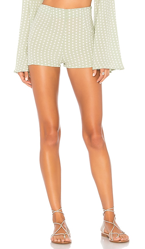 Kylie Shorts in Mint. - size M (also in L,S,XS) Ellejay