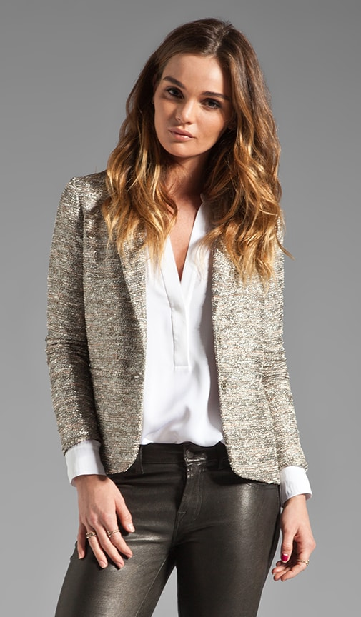 Stellar Tweed Lady Blazer