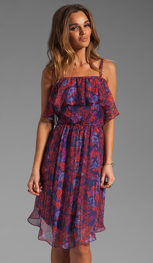 Rosemary Floral Ruffle Dress