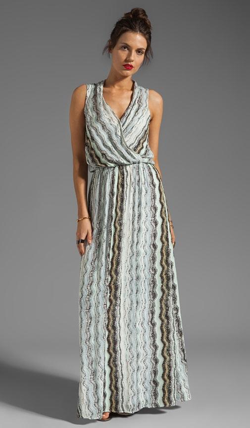 Zuma Print Maxi Dress